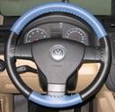 EuroPerf Sea Blue Perf-Black on VW Wheel