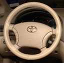 Original Sand on Toyota Wheel