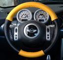 EuroTone Yellow-Black on Mini Cooper Wheel