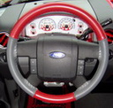 EuroTone Red-Grey on Ford Wheel