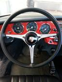 Original Black on Porsche Wheel