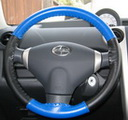 EuroPerf Cobalt Perf-Black on Scion Wheel
