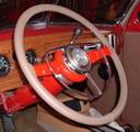 Original Oak on Ford Wheel