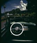 Original White on Packard Wheel