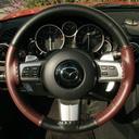 EuroTone Black-Burgundy on Mazada Wheel