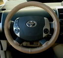Original Oak on Toyota Wheel