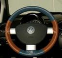 EuroTone Sea Blue-Tan on VW Wheel