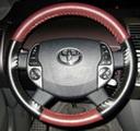 EuroTone Burgundy-Black on VW Wheel