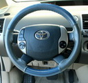 EuroPerf Sea Blue Perf-Charcoal Perf on Toyota Wheel
