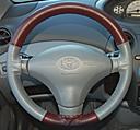 EuroPerf Burgundy Perf-Grey Perf on Toyota Wheel