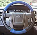 EuroTone Cobalt-Black on Ford Wheel