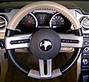 EuroPerf Sand Perf-Black Perf on Mustang Wheel
