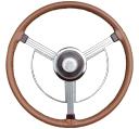 Original Tan on Buick Wheel